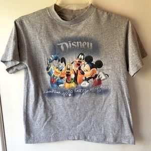 Disney Character Gray T-shirt (children's small)